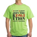 #OccupyDaroff Green T-Shirt