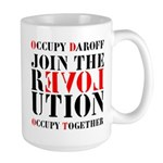 #OccupyDaroff Large Mug