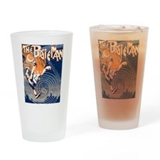 The Boogie Man Drinking Glass