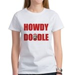 Howdy Goldendoodle Women's T-Shirt