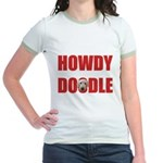 Howdy Goldendoodle Jr. Ringer T-Shirt