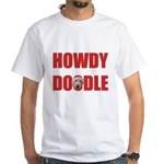 Howdy Goldendoodle White T-Shirt