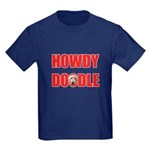 Howdy Goldendoodle Kids Dark T-Shirt
