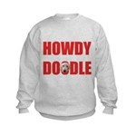 Howdy Goldendoodle Kids Sweatshirt