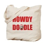 Howdy Goldendoodle Tote Bag
