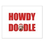 Howdy Goldendoodle Small Poster