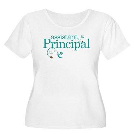 Assistant Principal School Women's Plus Size Scoop