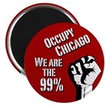 Occupy Chicago Protest Magnet