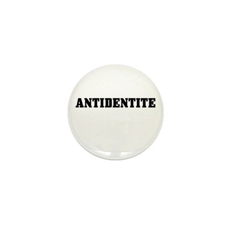 Antidentite Mini Button