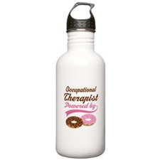 Occupational Therapist Gift Doughnuts Water Bottle