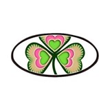 Psychedelic Irish Shamrock Patches