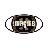 Imagine Peace Vintage Patches