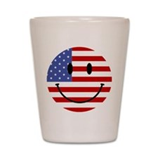 God Bless America Shot Glass