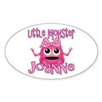 Little Monster Joanne Sticker (Oval)