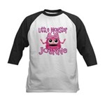 Little Monster Joanne Kids Baseball Jersey