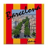 Barcelona Tile Coaster