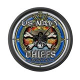 USN Navy Chiefs Backbone of the Fleet Large Wall C