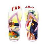 Yankees Cigar Label Flip Flops