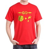 Go Barefoot, Men's T-Shirt