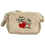 Please Bite Me Edward Messenger Bag
