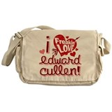 Freakin LOVE Edward Cullen Messenger Bag