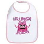 Little Monster Julie Bib