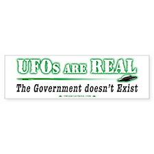 Ufos are real 4 yw Bumper Bumper Sticker