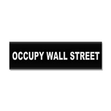 Occupy Wall Street - Car Magnet 10 x 3