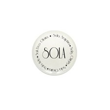 5 Solas Mini Button (100 pack)