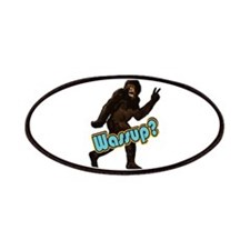 Bigfoot Sasquatch Yetti Wassup Patches