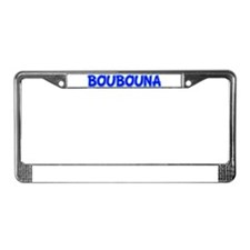 Greek Mati Protection License Plate Frame