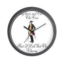 Unique Founding father Wall Clock