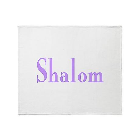 Shalom Throw Blanket