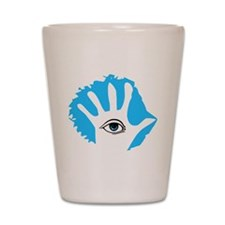 Blue Hamesh Shot Glass