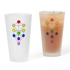 Tree of Life Kabbalah Drinking Glass