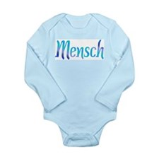 Mensch Long Sleeve Infant Bodysuit