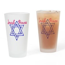 Jewish Princess Drinking Glass