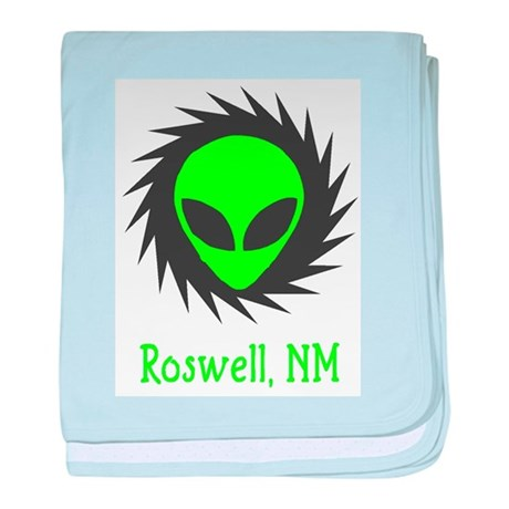 Roswell, New Mexico baby blanket