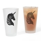 The Unicorn Drinking Glass