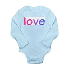 bisexual love Long Sleeve Infant Bodysuit