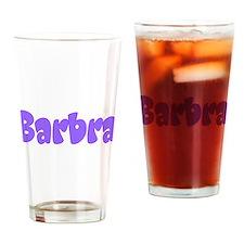 Barbra Drinking Glass