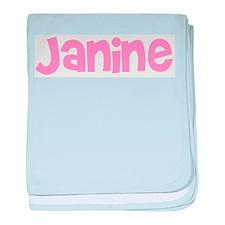 Janine baby blanket