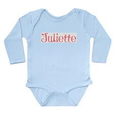 Juliette Long Sleeve Infant Bodysuit