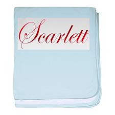 Scarlett baby blanket