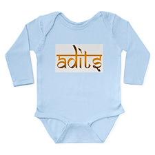 Adits Long Sleeve Infant Bodysuit