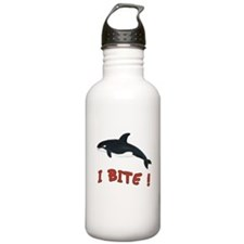 Whale - I Bite - Water Bottle