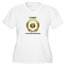 DUI-1ST RECRUITING BRIGADE WITH TEXT T-Shirt