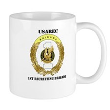 DUI-1ST RECRUITING BRIGADE WITH TEXT Mug
