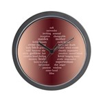 yOniverse Wall Clock