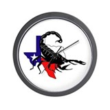 DUI-HOUSTON RECRUITING BN Wall Clock